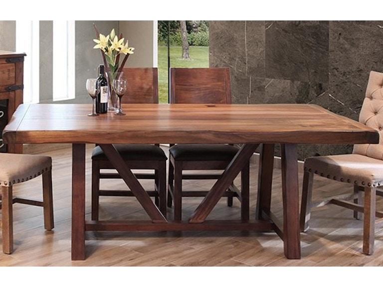 International Furniture Direct Table 40x79 Parota 869 911027P
