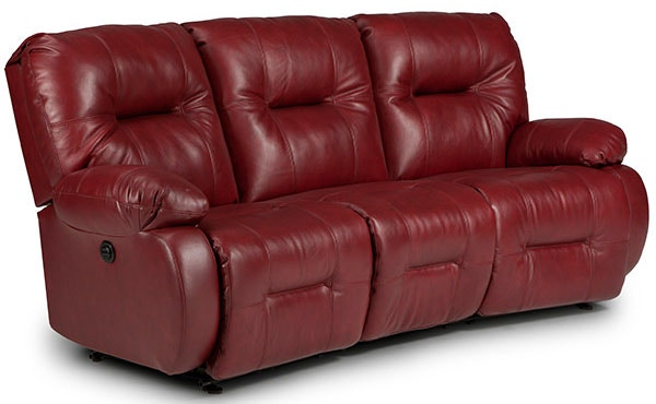 Best Home Furnishings Living Room Sofa Reclining Curved Power