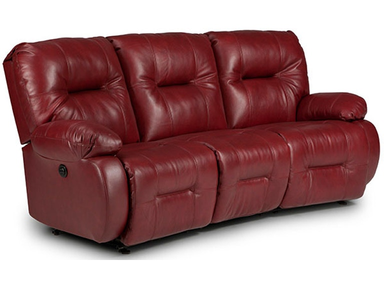 Best Home Furnishings Living Room Sofa Reclining Curved ...