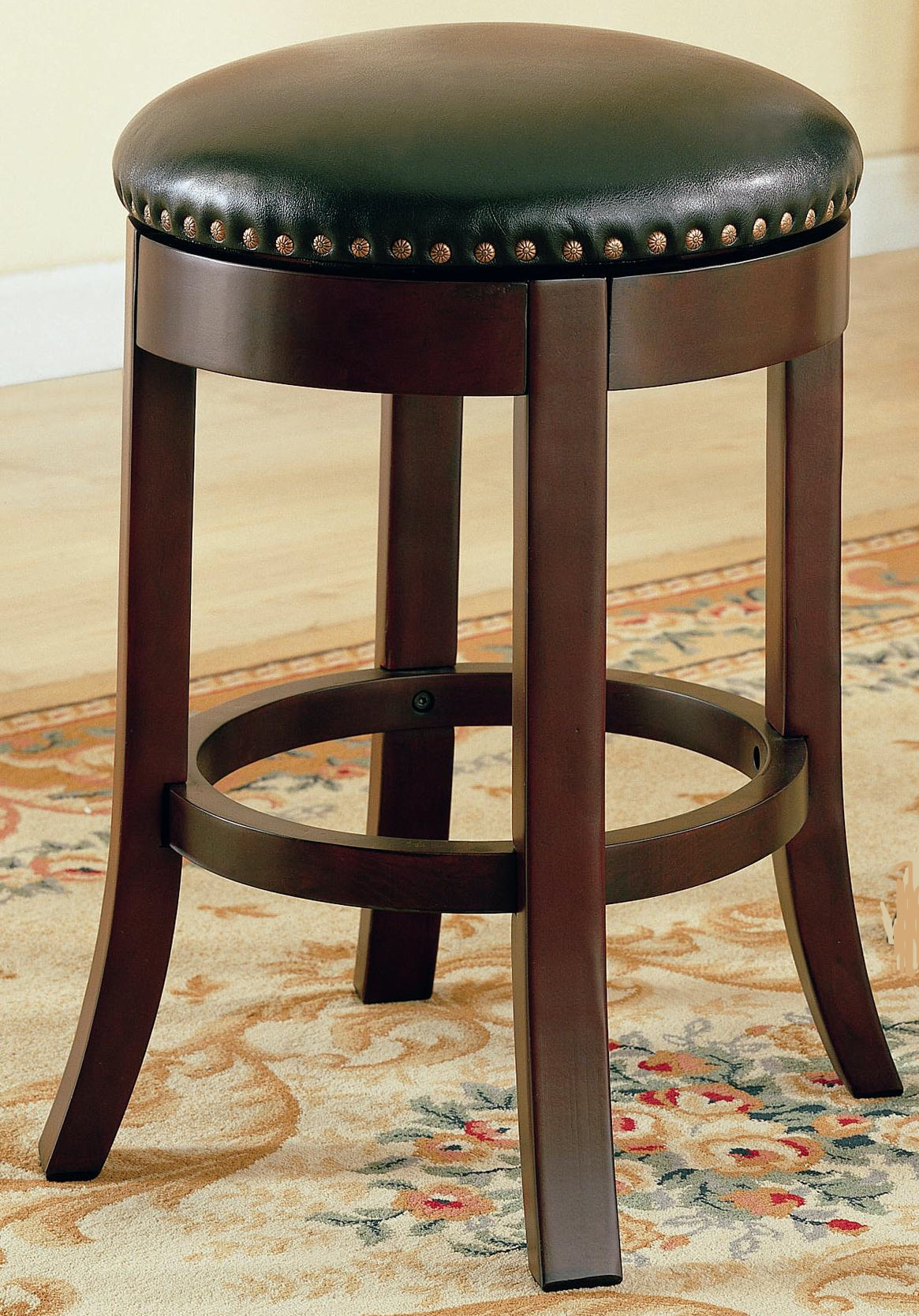 Coaster Bar And Game Room Stool 24 Backless Swivel 1010 998112