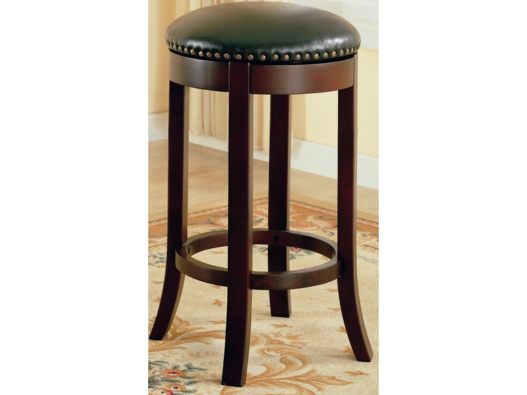 Marvelous Coaster Bar And Game Room Barstool 30 Backless Swivel 1010 Pdpeps Interior Chair Design Pdpepsorg