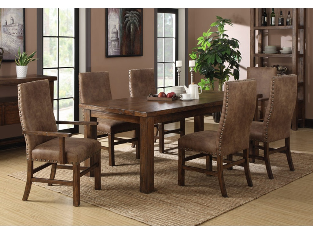 Home Furnishings Emerald Home Furnishings Dining Room Table 41x84 W28lf Chamber
