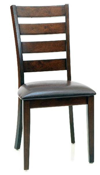 Intercon Dining Room Side Chair Ladderback Kona 521495 At Naturwood Home  Furnishings