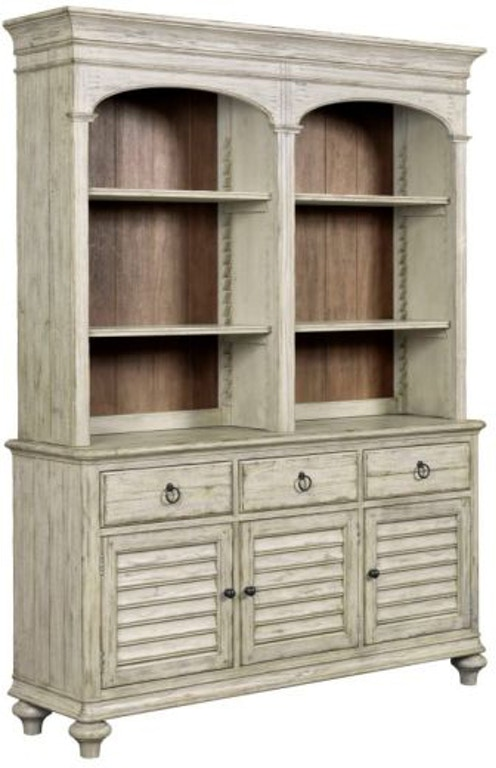 Kincaid Furniture China Open Hutch Buffet Hasting Weatherford 758671p