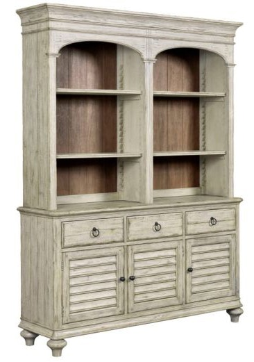 Kincaid Furniture China Open Hutch/Buffet Hasting Weatherford 758671P
