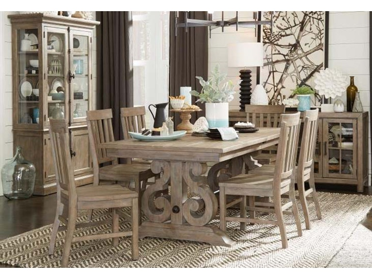 Magnussen Home Dining Room Table 48X48 W4848LF Tinley Park 0480036P Fascinating Magnussen Dining Room Furniture
