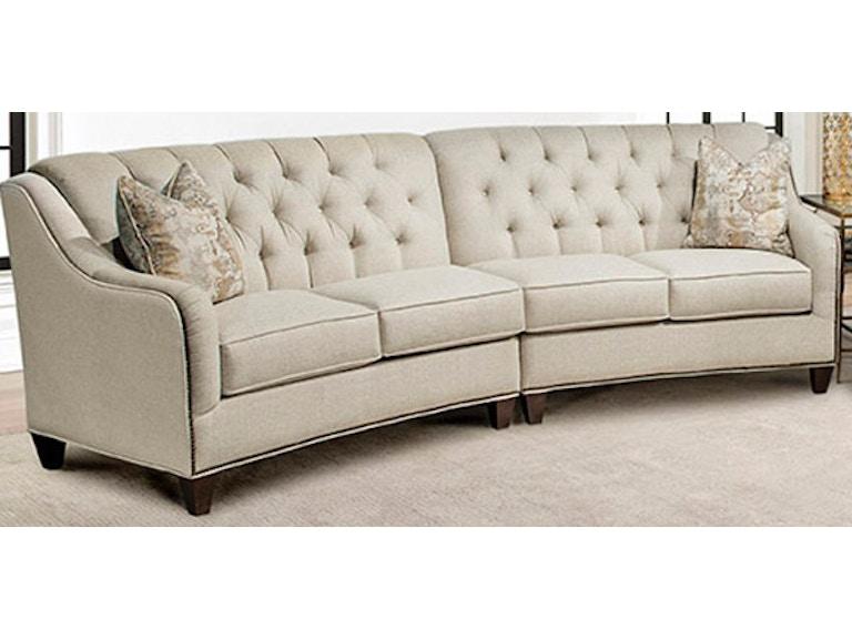 Marshfield Furniture Living Room Sofa 2pc Conversation Harlow 350919p Naturwood Home