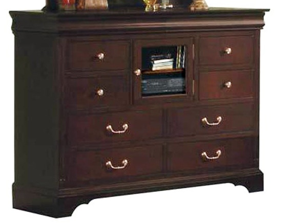 Winners Only Dresser 10 Drawer 58 Tall Renaissance Espresso 104381
