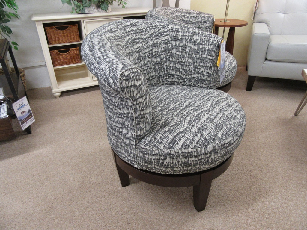 Magnificent Best Home Furnishings Living Room Swivel Chair 2958E Emw Inzonedesignstudio Interior Chair Design Inzonedesignstudiocom