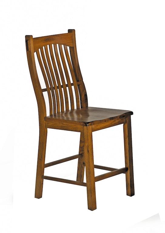 Amazing Laurelhurst Slat Back Counter Stool Rustic Oak Qty 2 Pdpeps Interior Chair Design Pdpepsorg
