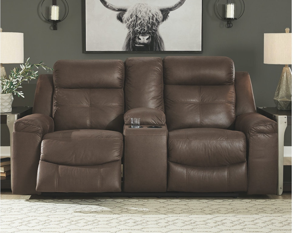 Sensational Jesolo Reclining Loveseat With Console Bralicious Painted Fabric Chair Ideas Braliciousco