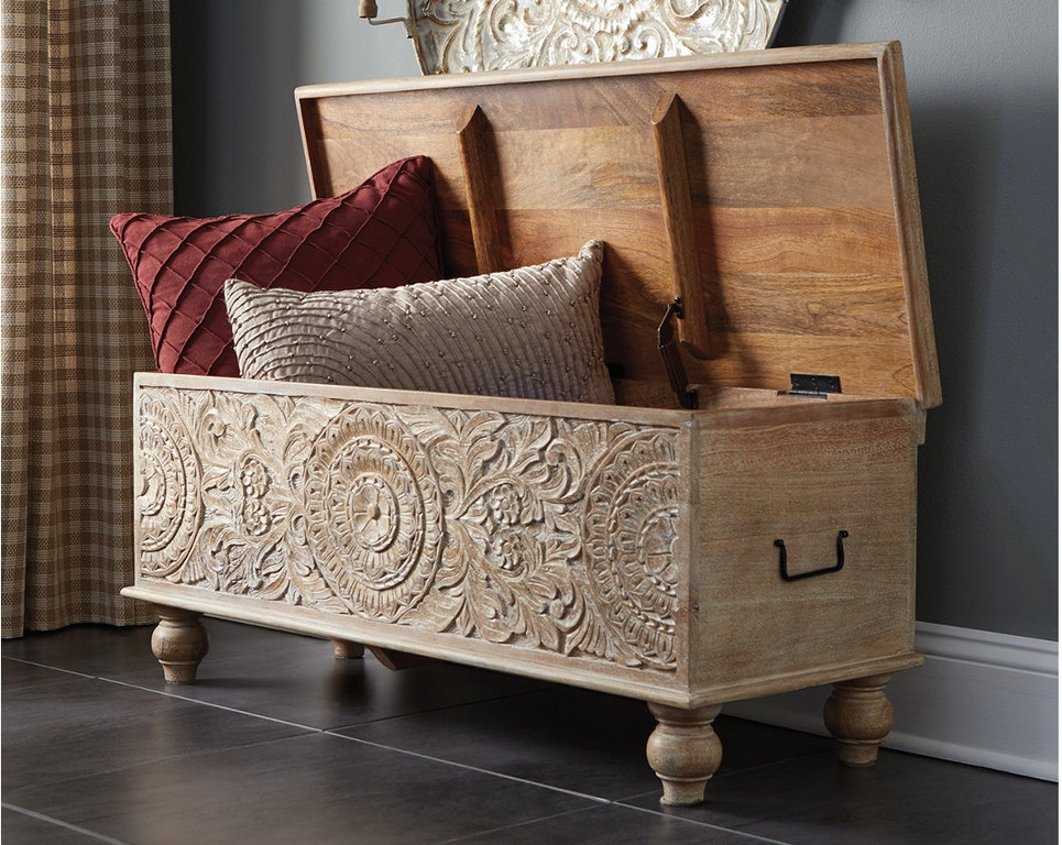 Wondrous Fossil Ridge Storage Bench Customarchery Wood Chair Design Ideas Customarcherynet