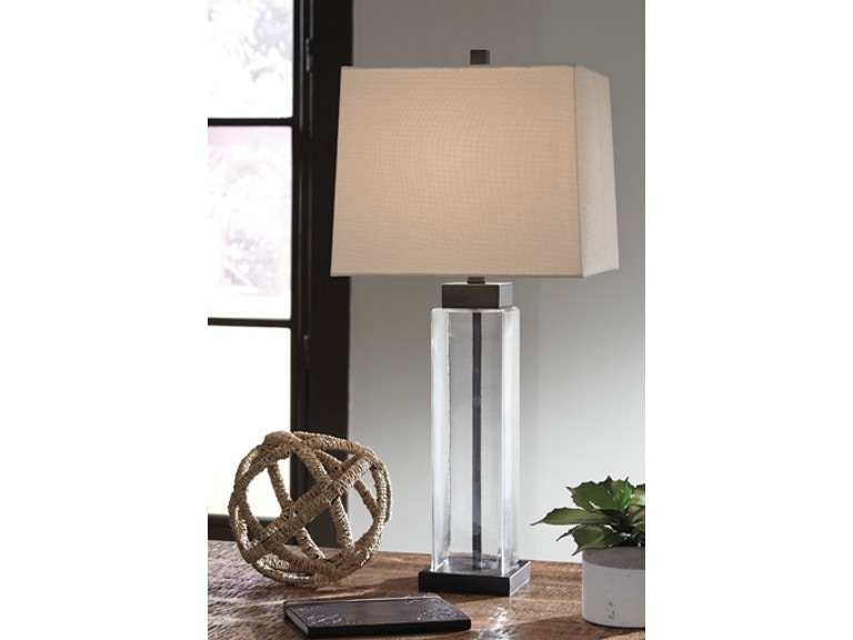 Ashley Alvaro Glass Table Lamp 2 Cn L431374 Portland Or Key