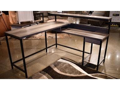 Ashley Arlenbry Home Office Desk Return H275 34r Portland Or Key Home Furnishings