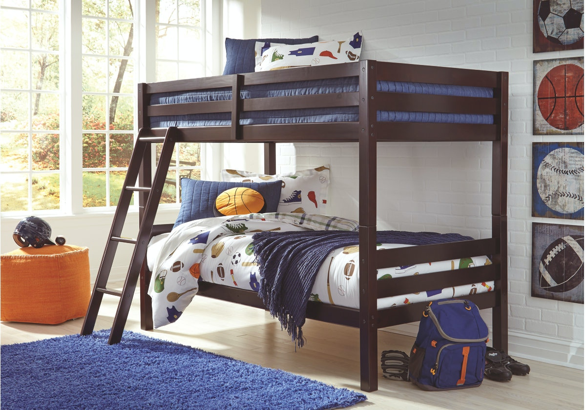 Ashley Halanton Twin Twin Bunk Bed W Ladder B328 59 Portland Or