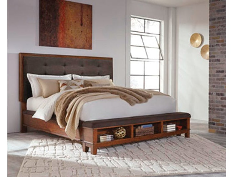 Ashley Ralene 7 Piece King Bed Set Portland Or Key Home Furnishings