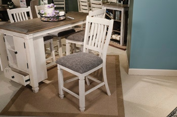 Bolanburg Round Counter Height Dining Set