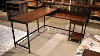 Image of: Ashley Camiburg Home Office Desk Return H283 34r Portland Or Key Home Furnishings