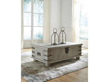 Ashley Carynhurst Coffee Table With Lift Top T757 9
