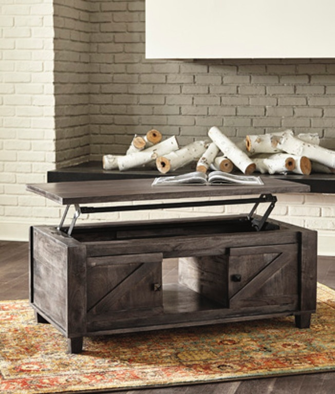 Farmhouse Lift Top Coffee Table.Ashley Chaseburg Coffee Table With Lift Top T848 9 Portland Or