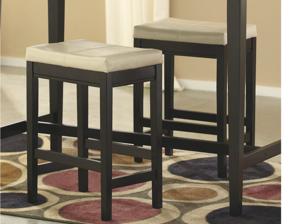 Excellent Kimonte Counter Height Bar Stool Qty 2 Ncnpc Chair Design For Home Ncnpcorg