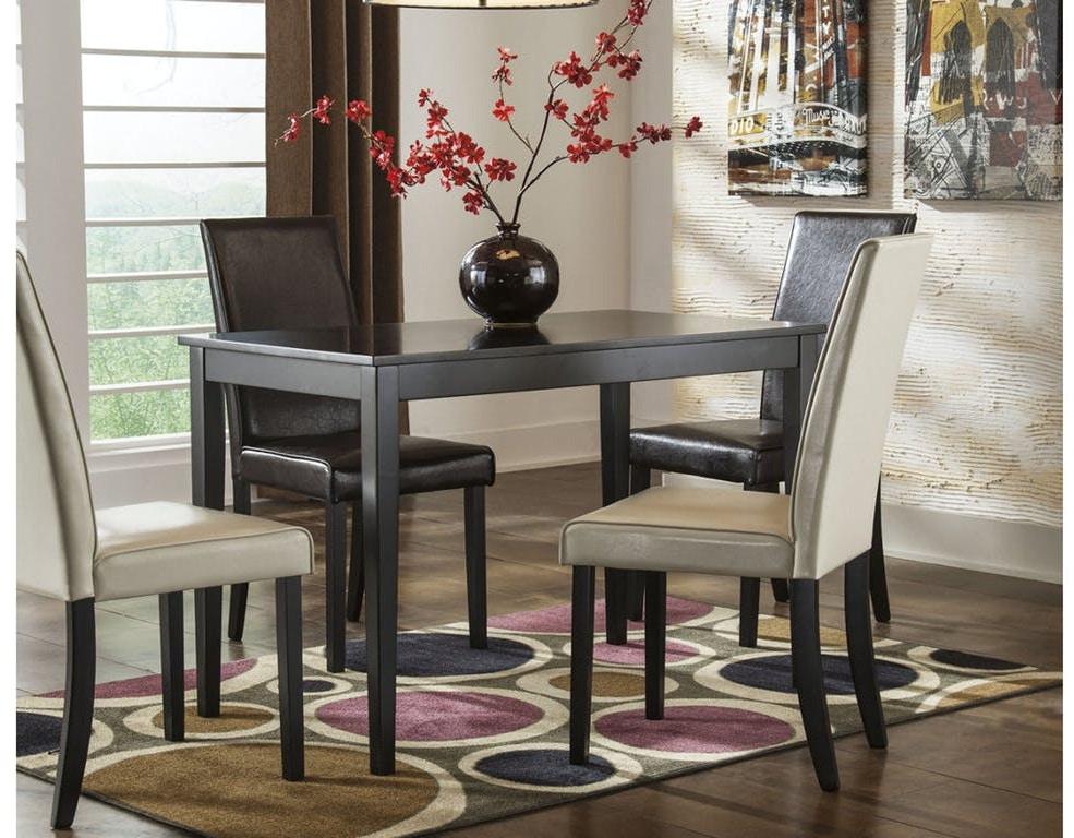 Ashley Kimonte Rectangular Dining Room Table D250 25