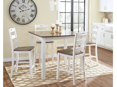 Ashley Woodanville Dining Room Table And Chairs Set Of 7