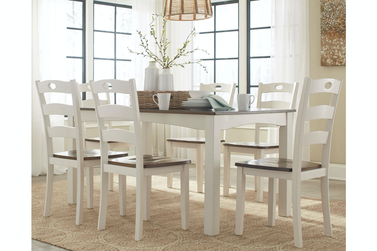 Ashley Dining Room Table Set (7/CN) D335 425 In Portland,