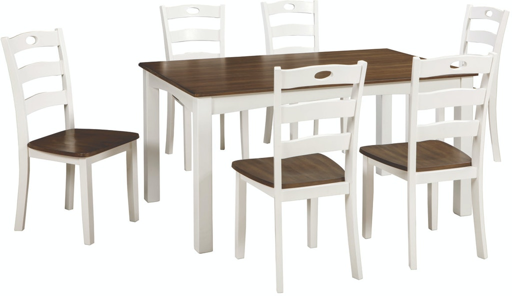 Ashley Woodanville Dining Room Table Set (7/CN) D335-425 - Portland, OR