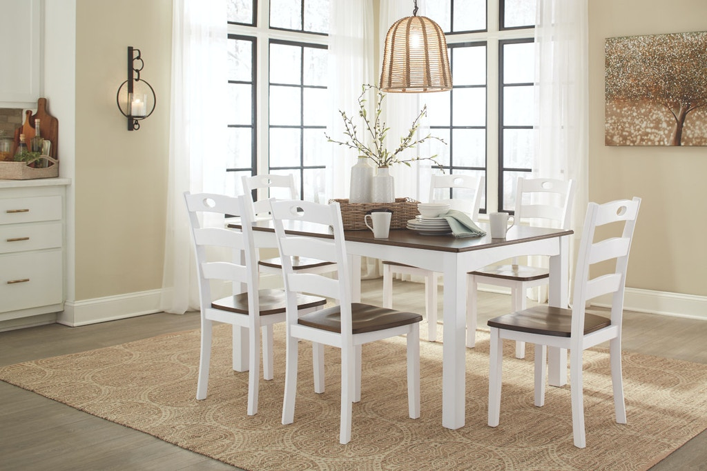 Ashley Dining Room Table Set 7 CN D335 425 In Portland