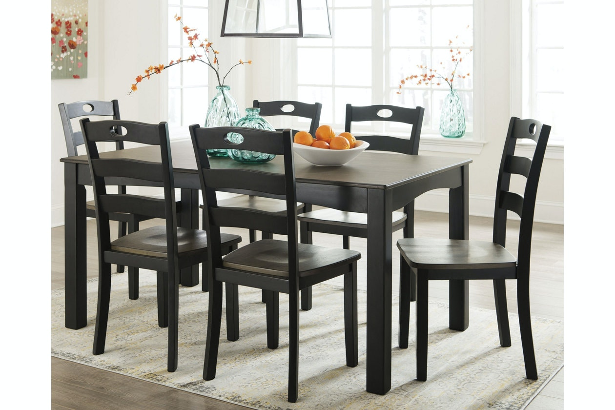Ashley Dining Room Table Set (7/CN) D338 425 In Portland,