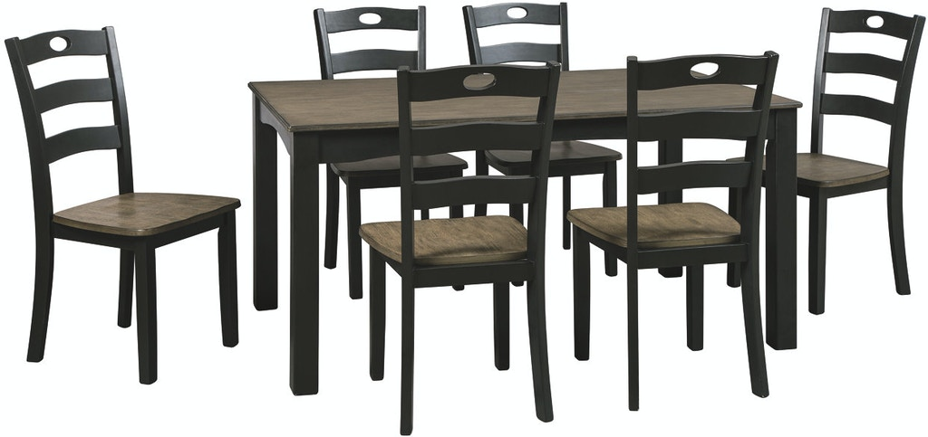 Ashley Dining Room Table Set 7 CN D338 425 In Portland
