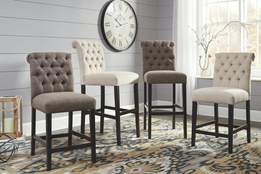 Ashley Tripton Upholstered Barstool Qty 2 D530 124
