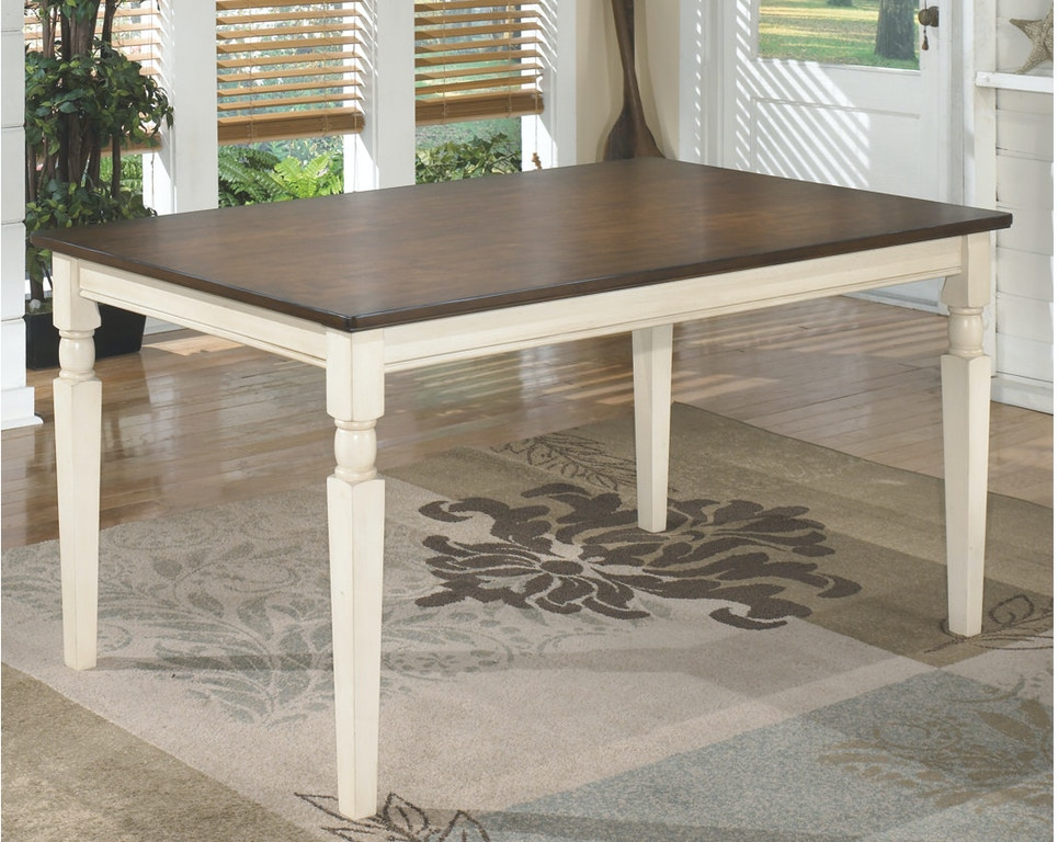 Ashley Whitesburg Dining Room Table D583 25 Portland Or