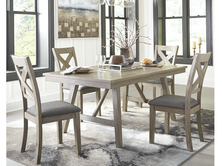Ashley Aldwin Rectangular Dining Room Table D617 45