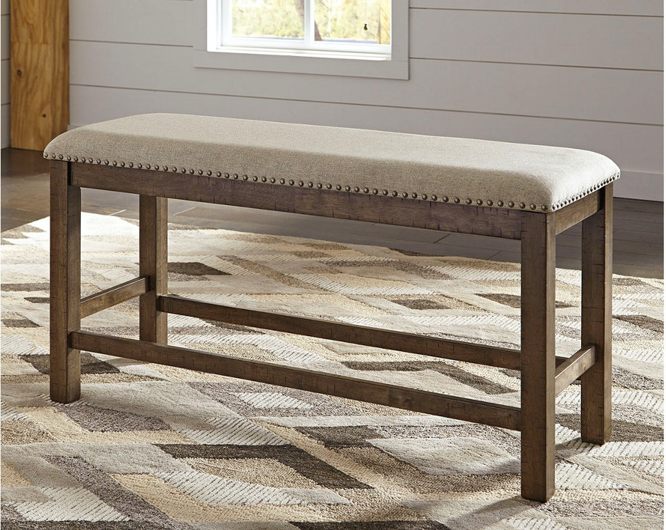 Pleasing Moriville Counter Height Dining Room Bench Ncnpc Chair Design For Home Ncnpcorg