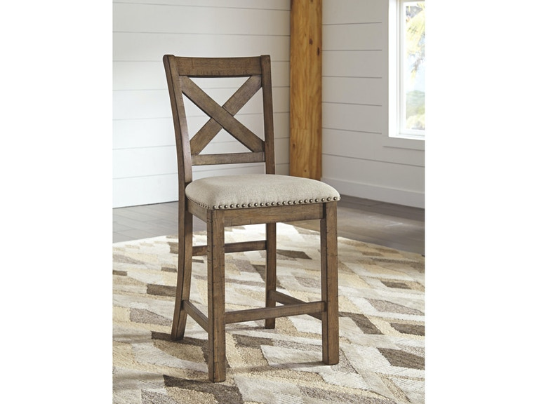 Awesome Moriville Counter Height Bar Stool Qty 2 Machost Co Dining Chair Design Ideas Machostcouk