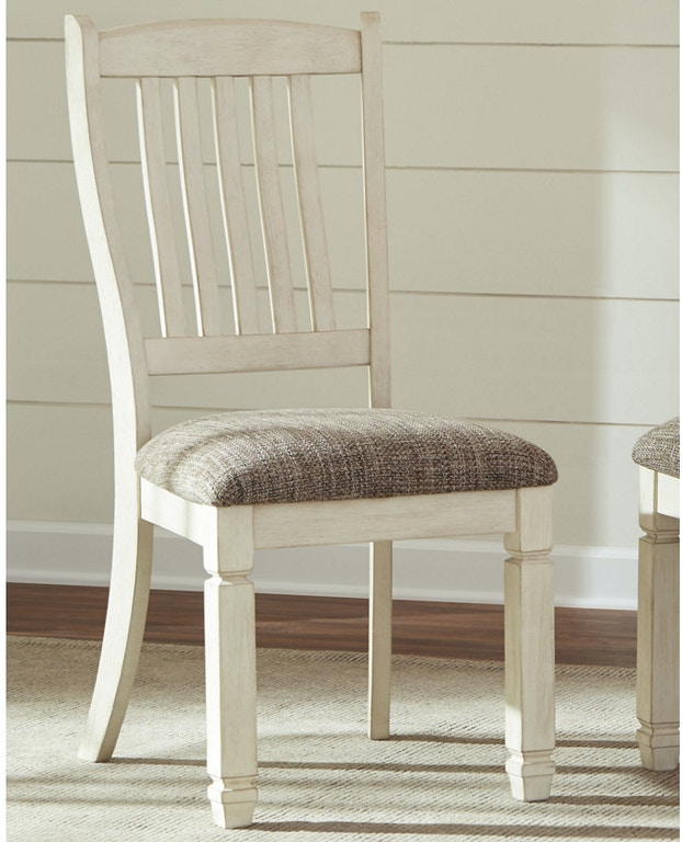 Ashley Bolanburg Dining Uph Side Chair Qty 2 D647 01