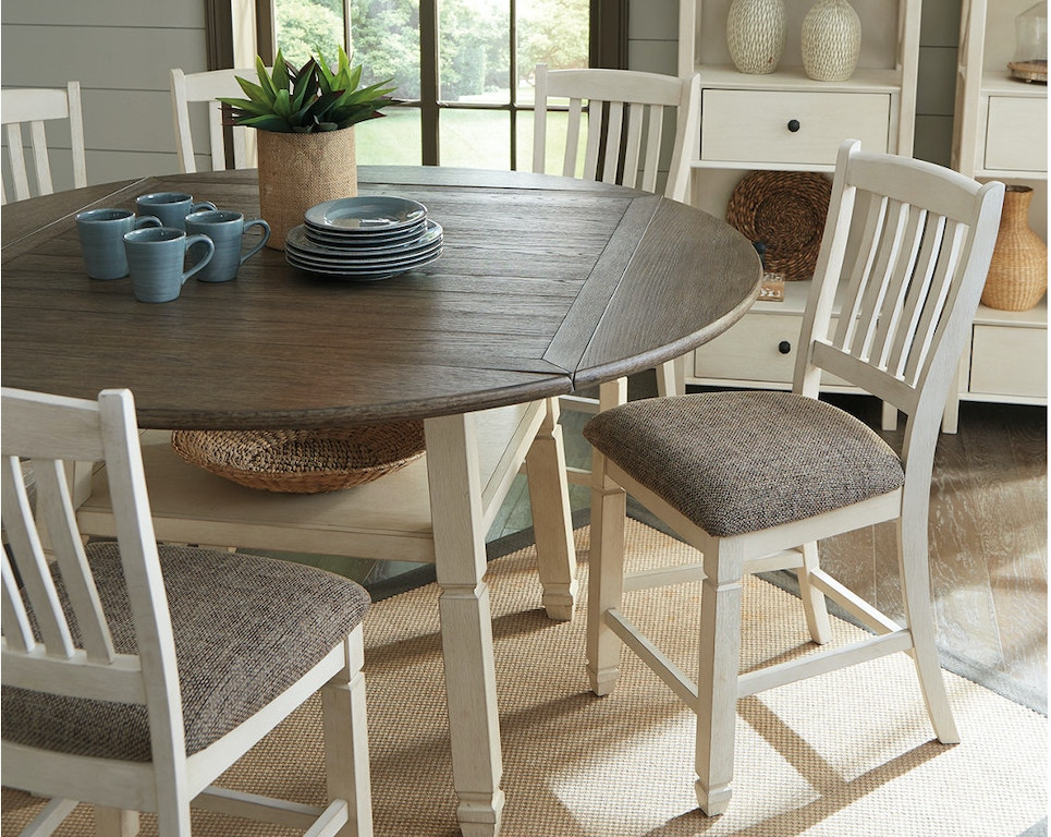 Ashley Bolanburg Counter Height Dining Room Drop Leaf