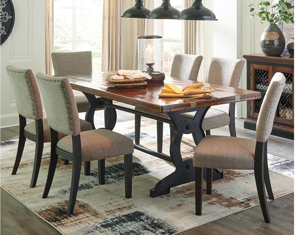 Ashley Rectangular Dining Room Table D709 25 In Portland Oregon