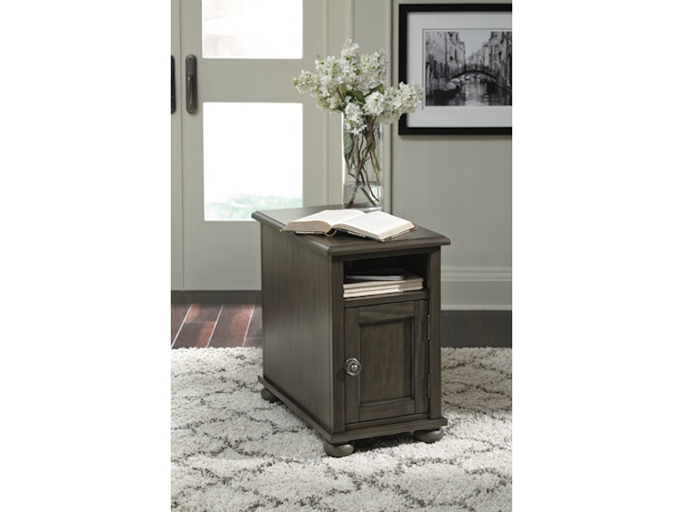 Ashley Devensted Chairside End Table T534 7 Portland Or Key