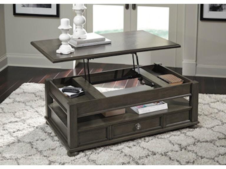 Wondrous Ashley Coffee Table Lift Top Theyellowbook Wood Chair Design Ideas Theyellowbookinfo