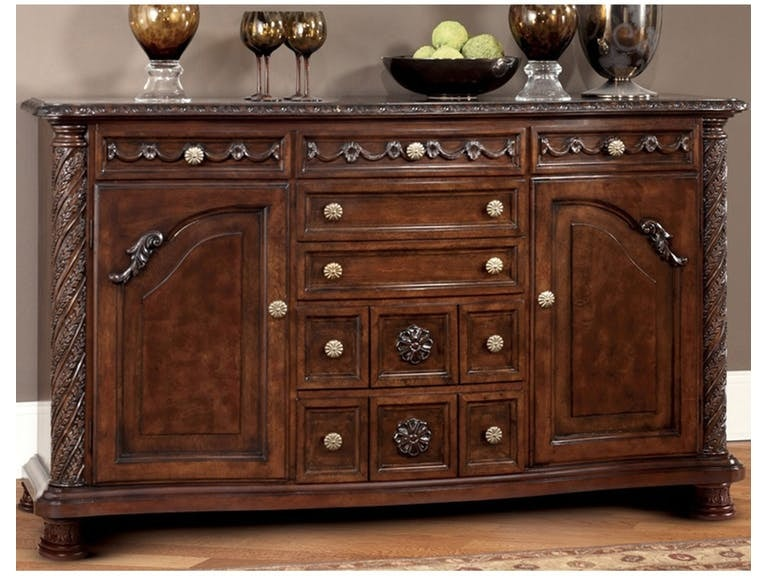 Ashley North Shore Dining Room Server D553 60 Portland
