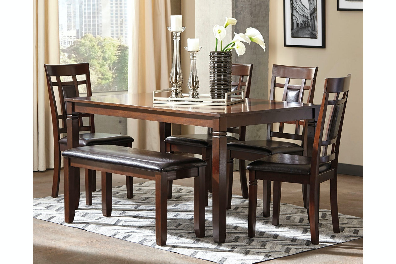 Ashley Dining Room Table Set (6/CN) D384-325 in Portland & Ashley Bennox Dining Room Table Set (6/CN) D384-325 - Portland OR ...
