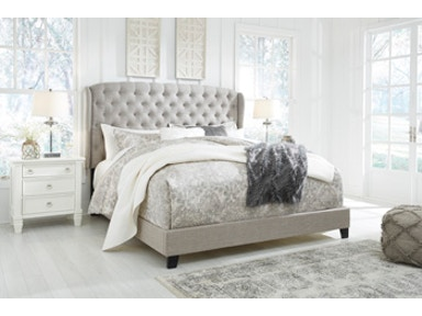 Ashley Jerary Queen Upholstered Bed B090 381 Portland
