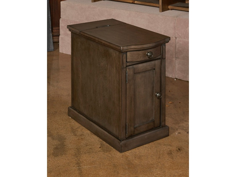 Ashley Laflorn Chairside End Table With Usb Ports And Outlets T127
