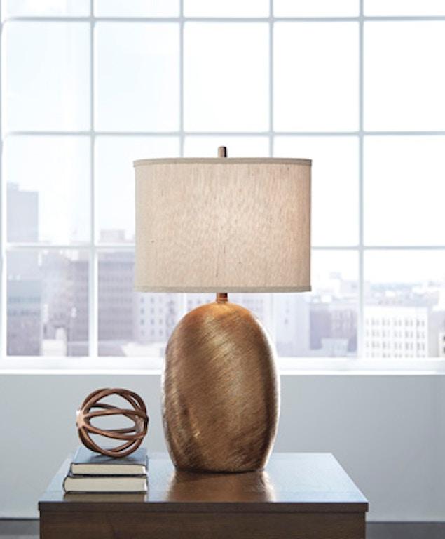 Ashley Lewelyn Ceramic Table Lamp 2cn L100614 Portland Or