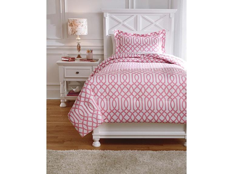 Ashley Loomis Twin Comforter Set Q758011t