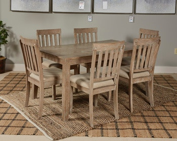 Ashley Dining Room Table Set (7/CN) D484-425 in Portland & Ashley Mattilone Dining Room Table Set (7/CN) D484-425 - Portland ...
