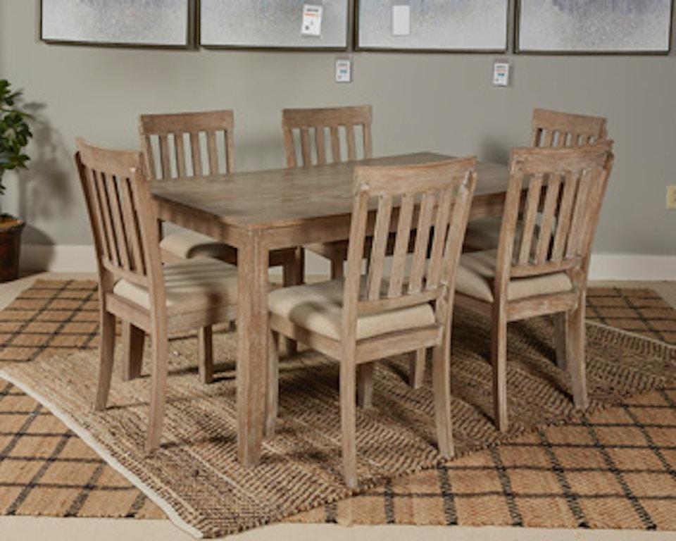 Ashley Mattilone Dining Room Table Set (7/CN) D484-425 - Portland ...